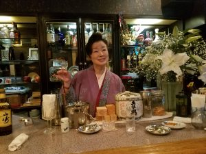 Japanese bar lady